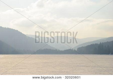 Frozen Titisee, Schwarzwald