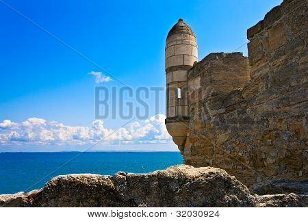 Ancient Turkish Fortress.