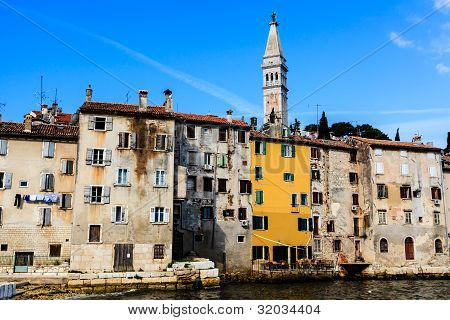 Medieval City Of Rovinj And Saint Euphemia Cathedral, Croatia