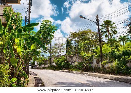 Street of Krabi Town