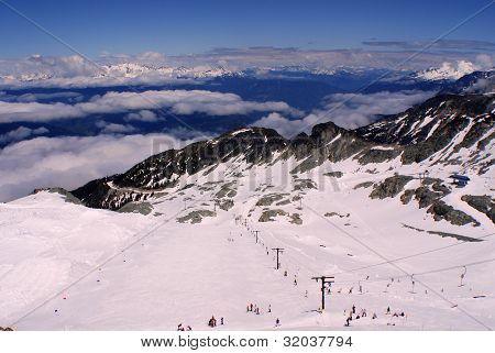 Whistler Blackcomb mountain.