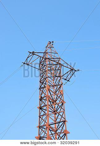 elektrische Hochspannungsleitung