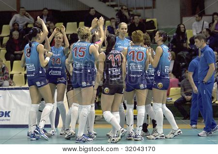 Volleybal Team Dynamo(msc)