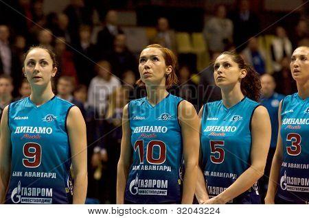 V.Ulyakina(9), A.Matienko(10), E.Yaneva(5), M.Perepelkina(3)