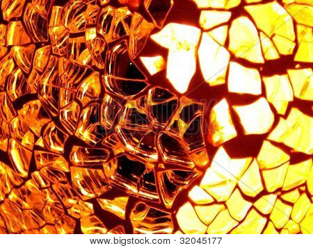 Glass and Light Textured Background 2
