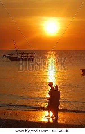 Fishermen Dhow Boat
