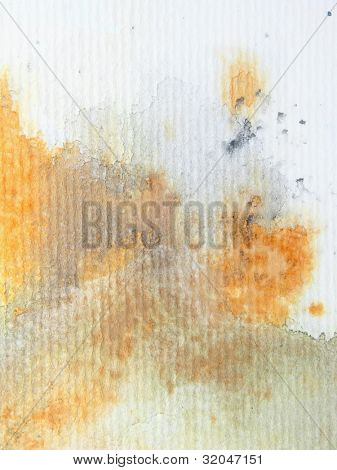 Gold and Grey Watercolor Background 5