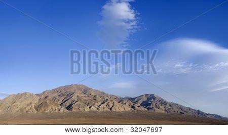 Panoramic Of Monte Cristo Mountains, Nevada