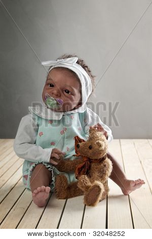 African American Baby Dol