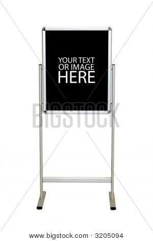 Easel Stand Sign