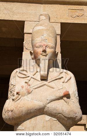 africa. egypt, western thebes, hatshepsut temple