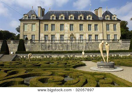 France, The Castle Of Auvers Sur Oise