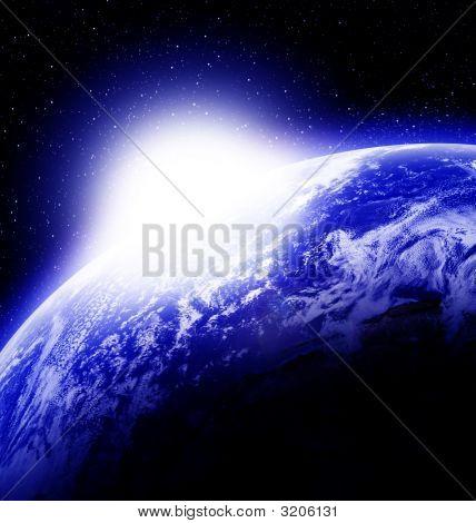 Sunrise On Planet Earth