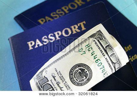 Cash And U.s. Passports