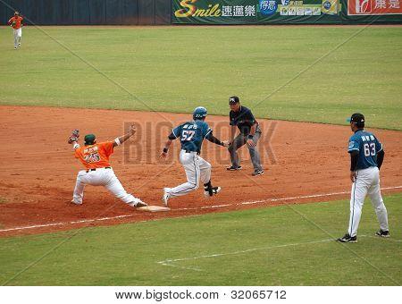 Juego de béisbol profesional en Taiwán