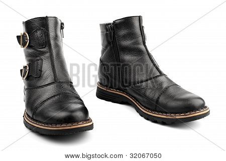 Leathers Boots