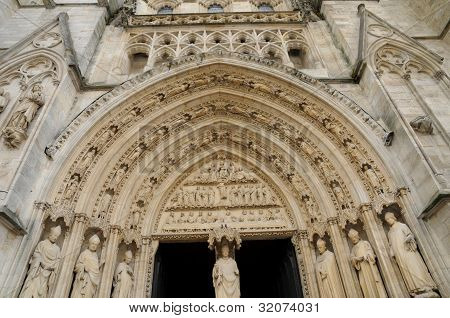 France, The Cathedral Of Bordeaux