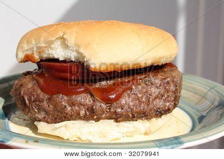 Hamburguesa grasa