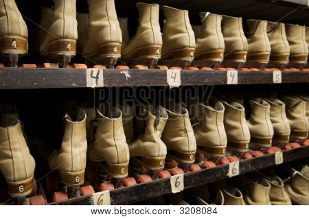 Picking Out A Pair Of Roller Skates