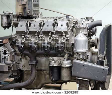 Outdated Diesel Engine