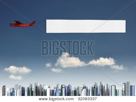 Airplane Banner