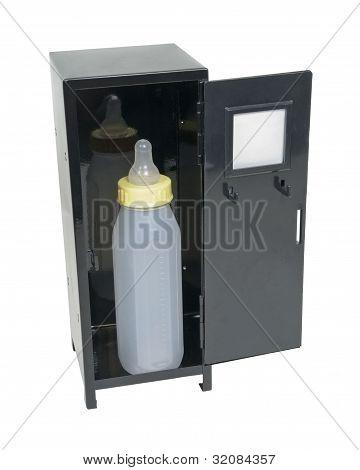 Baby Bottle In A Locker
