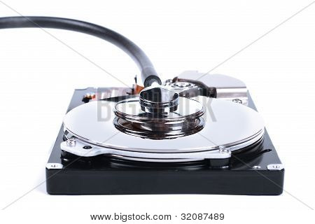 Hdd Check - Computer Hard Drive And A Stethoscope