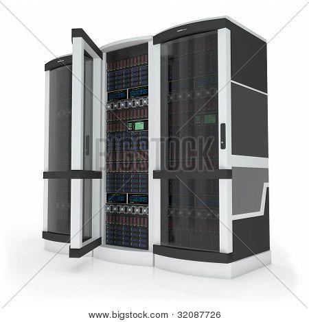 Tres servidores