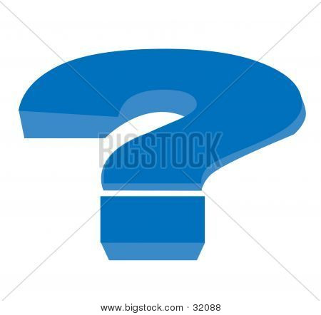 Illustrated Question Mark