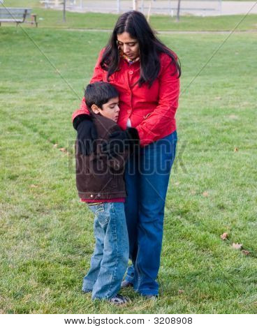 Consoling An Upset Child