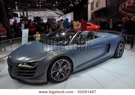 Audi R8 CT Spyder