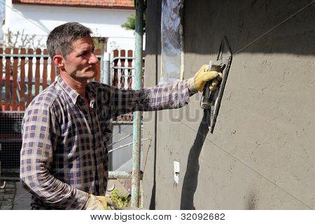 Construction Mason Worker