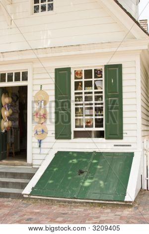 Milliner Shop In Colonial Williamsburg