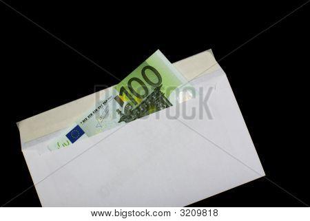 Maney In Envelope