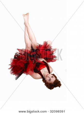 Ballet Girl Lying.