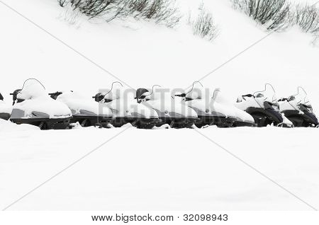 Winter Scenery In Val Thorens, France