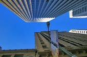 San Francisco Financial Buildings poster