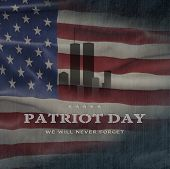 American National Holiday. Us Flag Background With American Stars, Stripes And National Colors. Text poster