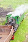 stock photo of former yugoslavia  - steam freight train - JPG