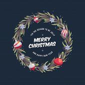Christmas Wreath 8 poster