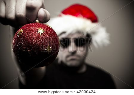 Angry Bouncer At Christmas