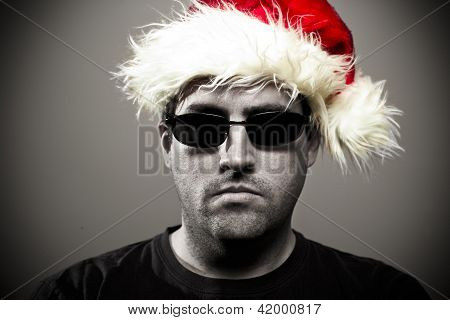Gorila de Navidad