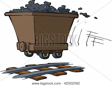 Trolley With Ore