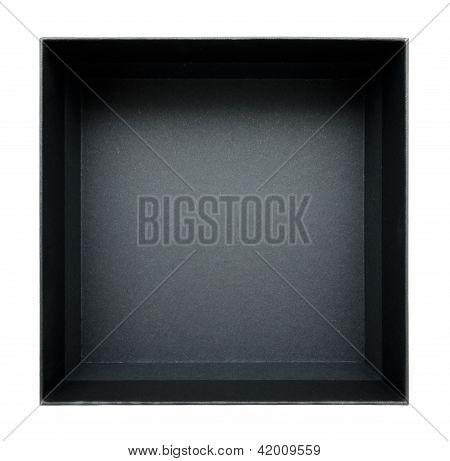Black Open Box, Top View