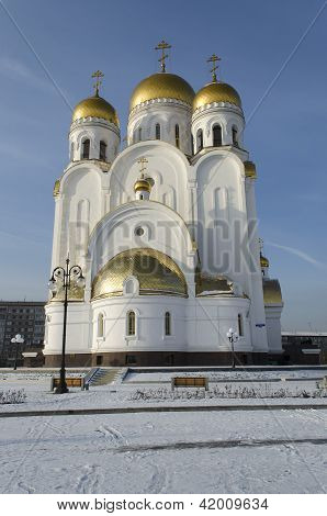 Church of the Nativity in the city of Krasnoyarsk