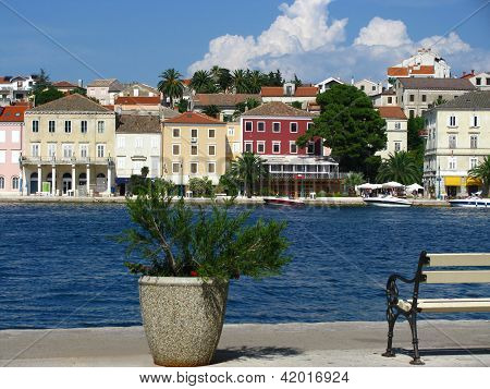 Coastal town Mali Losinj, Croatia