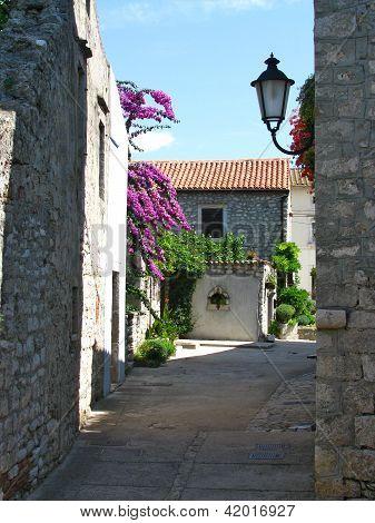 Picturesque Mediterranean village