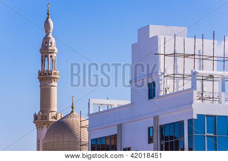 The Maharba mosque in Dubai