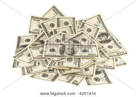 Dollars.Money. isolated.
