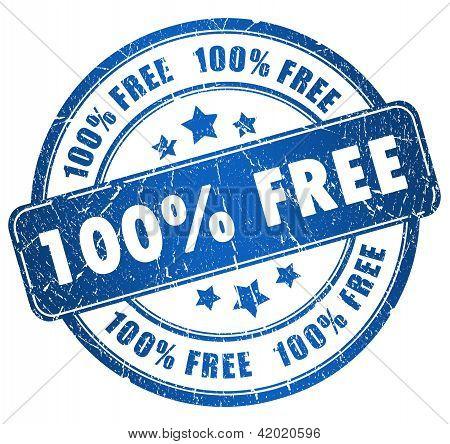Grunge free stamp
